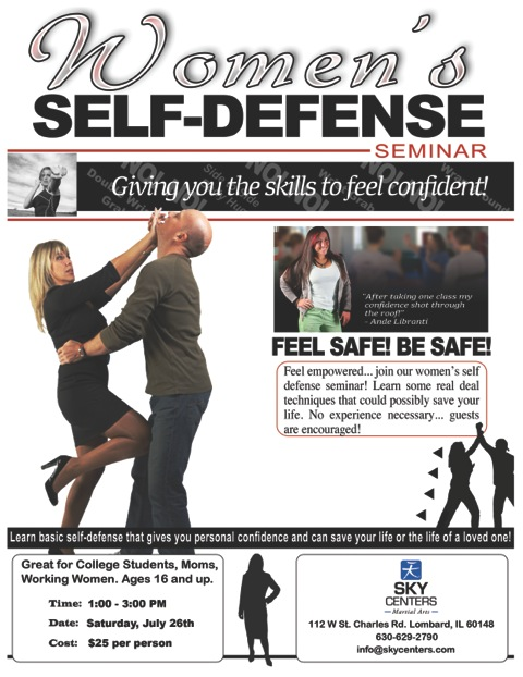 self defense seminar street2014